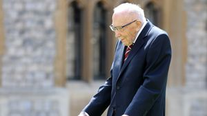Spendenaktion rührte Millionen: Tom Moore (†100) gestorben
