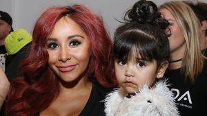 Snooki und ihre Tochter Giovanna Marie LaValle