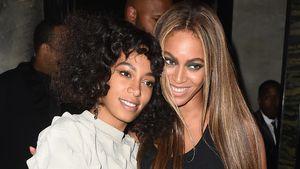 Solange Knowles mit ihrer großen Schwester Beyoncé