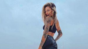Eiseskälte egal: Sophia Thomalla posiert supersexy im Schnee
