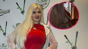 Mit Zigarre: Sophia Vegas offenbar noch nicht schwanger!
