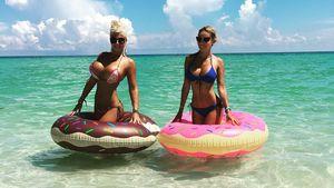 Sophia Wollersheim und Maria Hering in Miami Beach
