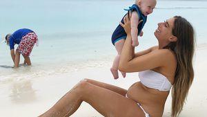 After-Baby-Bauch ohne Photoshop: Fans feiern Stacey Solomon