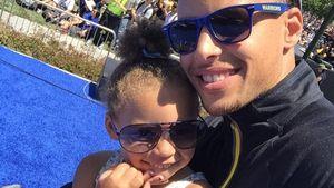 Bald-Papa Stephen Curry: Schwester für Töchterchen Riley
