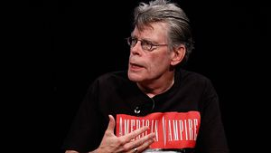 Stephen King 2010 in New York