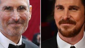 Steve Jobs und Christian Bale