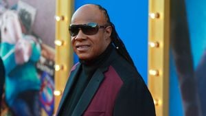 "Stevie Wonder bei der Premiere von ""Sing"" in Los Angeles"