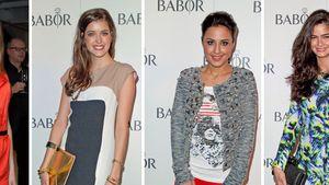 Shermine Shahrivar, Marie Nasemann, Nina Moghaddam und Amelie Klever