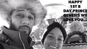 Alicia Keys, Swizz Beatz und Genesis Ali Dean