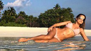 Sylvie Meis auf den Malediven