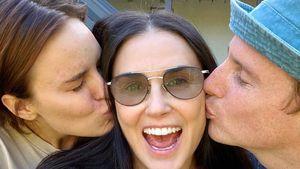 Superhappy: Demi Moore freut sich über Tallulahs Verlobung