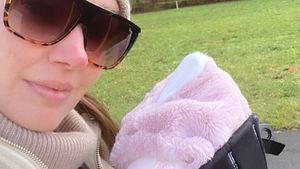 Kurz nach Geburt: Tamara Ecclestone zeigt ihre Tochter