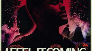 """The Weeknds """"I Feel It Coming""""-Musikposter"""