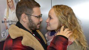 Thomas Drechsel als Tuner mit Serienkollegin Luise von Finckh bei GZSZ