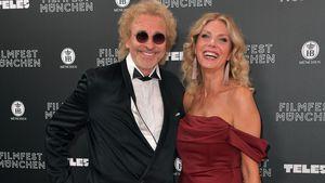 Strahle-Pics: Thomas Gottschalk mit neuer Freundin bei Event