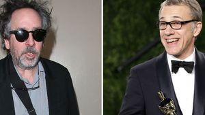 Neues Team: Christoph Waltz und Tim Burton