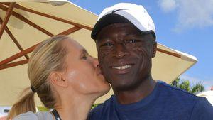 Ist Seal wieder verliebt? Hier turtelt er mit Tennis-Beauty