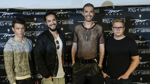 Georg, Tom, Bill und Gustav von Tokio Hotel
