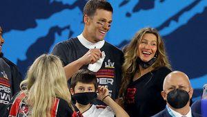 Super Bowl: Gisele Bündchen und Kids jubeln mit Tom Brady