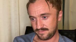 """Rührend: Hier weint Tom Felton beim """"Harry Potter""""-Schauen!"""