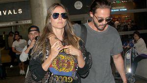 Paar-Beweis! Heidi Klum & Tom Kaulitz am Flughafen erwischt
