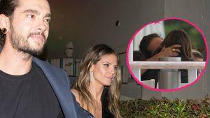 In Frankreich: Tom küsst seine Heidi ganz leidenschaftlich!