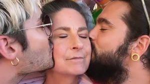 Selten! Bill und Tom Kaulitz zeigen ihre Mutter Charlotte