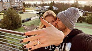 Süße Throwback-Pics: Toni Garrn postet Verlobungsbilder