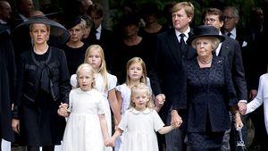 So traurig war Prinz Frisos Beerdigung!
