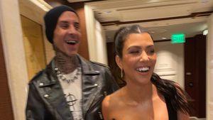 Umfeld: Kourtney Kardashian noch nicht mit Travis verlobt