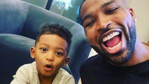 Selten: Tristan Thompson postet Selfies mit Söhnchen Prince