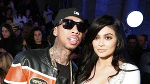Tyga und Kylie bei der New York Fashion Week
