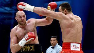 Tyson Fury gegen Wladimir Klitshcko