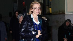 Uma Thurman nach dem Prozess in New York