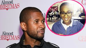 Wie rührend! Ushers bewegende Worte an seinen Stiefsohn