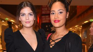 Vanessa Fuchs und Lovelyn beim Late Night Shopping in der Hamburger Meile