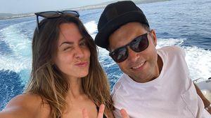 Süße Urlaubsgrüße: Vanessa Mai postet Pics mit Ehemann