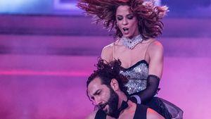 """Vanessa Mai und Massimo Sinató bei der Kennenlernshow von """"Let's Dance"""""""