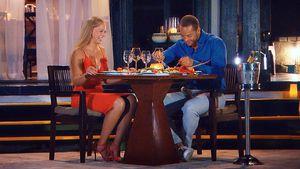 Frühstücks-Fail: Vanessa & Andrej sitzen im FKK-Bereich