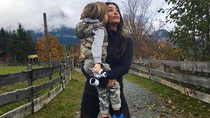Verona Pooth mit Sohn Rocco