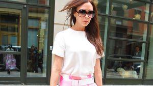 Fashion-Wandel? Victoria Beckham plötzlich rosa-romantisch