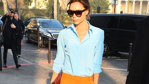Victoria Beckham auf der Paris Haute Couture Fashion Week