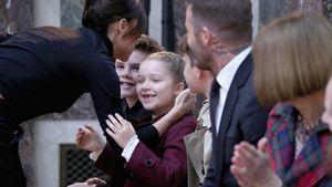Supersüß bei Mama Vics Fashion-Show: Harper mit Zahnlücke