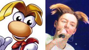 Videospielfigur Rayman & Heiko Lochmann