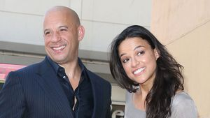 Vin Diesel und Michelle Rodriguez 2013 in Hollywood
