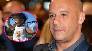 Vin Diesel und seine Tochter Pauline (v.r.)
