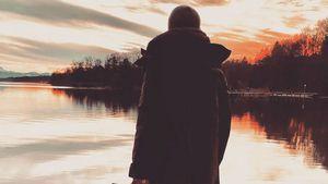 Wayne Carpendale schleift Sohn mit zum Sonnenuntergang