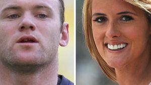 Wayne Rooney und Helen Wood