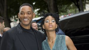 Will und Willow Smith bei der Chanel-Show in Paris