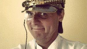 Wolfgang Bahro mit Monokel